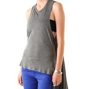 Anthro Cheap Monday Xifeng Tank in charcoal